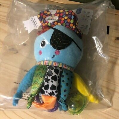 Lamaze Captain Calamari Baby Activity Toy Play Peek A Boo With Mirror NEW