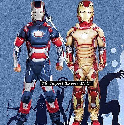 Ironman Costume Tuta Carnevale Bambino Ironman Boy Costumes - Iron Man Dress Up 2