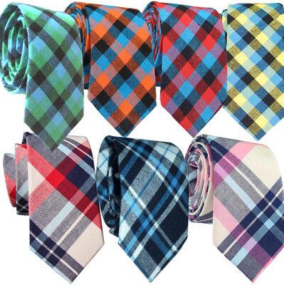 Mens Argyle Tie - Plaid Diamond Tartan Orange Blue Red Yellow Pink Green wedding Diamond Mens Tie