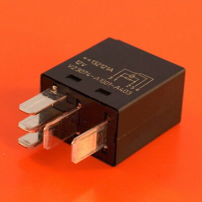Automotive Micro Relay 12V 25 Amp 5 Pin Changeover By Tyco (Genuine)