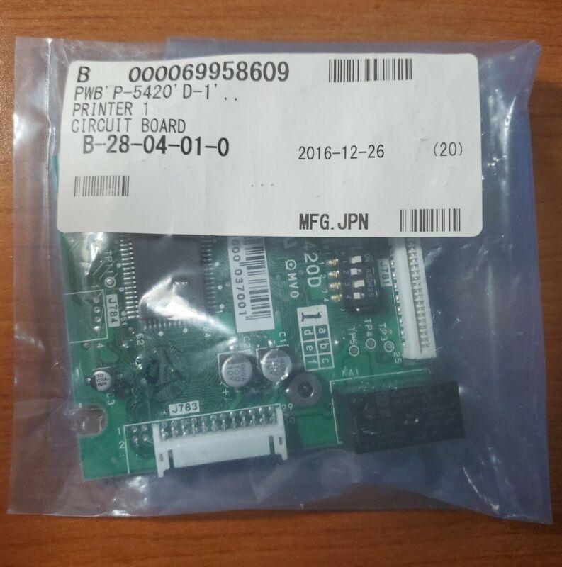 ISHIDA P-5420D PC Printer Circuit Board New Open Box Fast Shipping