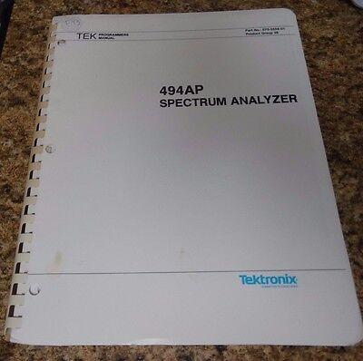 Tektronix 494p Programmer Manual