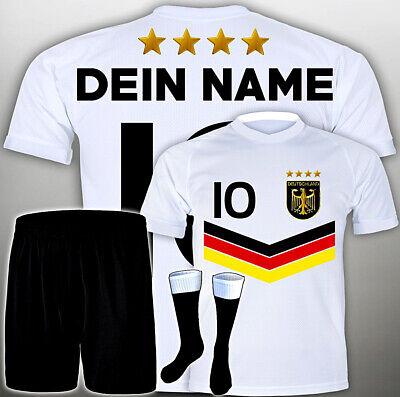 Geschenk Für 8 Jährigen Jungen Set / WM Fußball Trikot +GRATIS Wunsch Name #<-Fr ()
