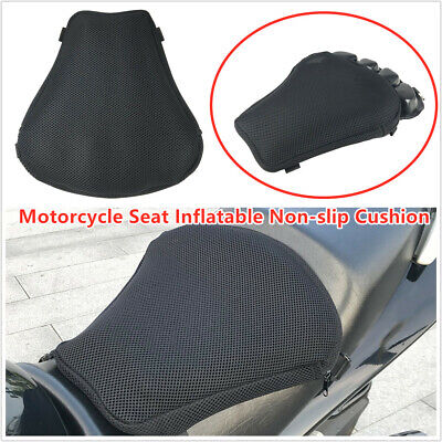 Breathable Air Inflatable Cushion Seat Cover Pad Mat Anti Skip for Motorcycle