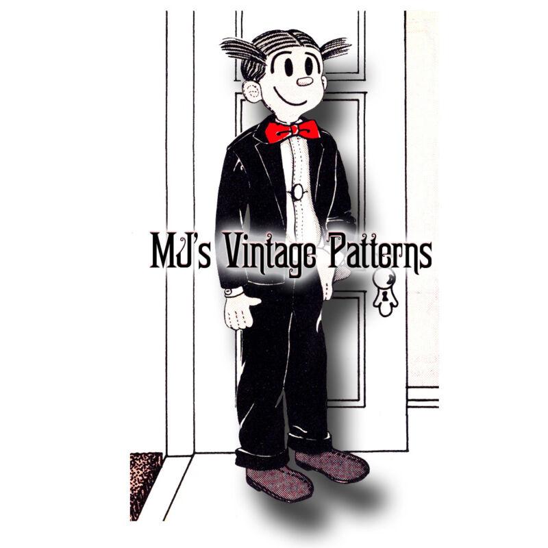 Vintage Dagwood Doll Pattern