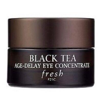 FRESH BLACK TEA AGE DELAY EYE CONCENTRATE 0.5 OZ FULL SIZE! BOX ! AMAZING!