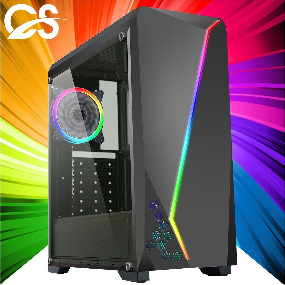 Computer Games - ULTRA FAST Gaming PC Computer Intel Quad Core i7 8GB 1TB Win10 2GB GT710 CHEAP