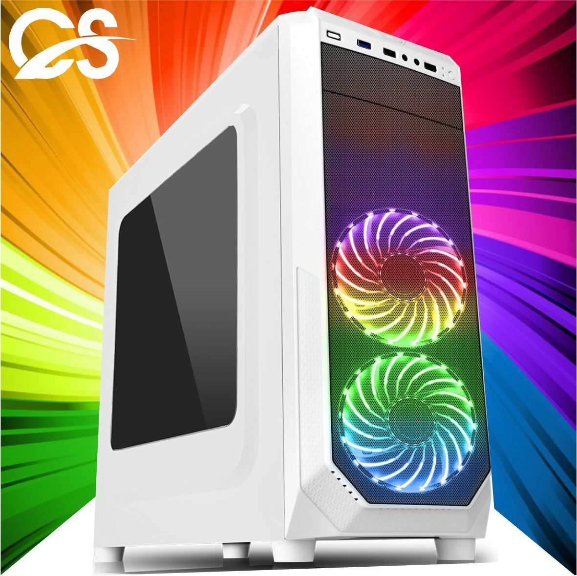 Computer Games - ULTRA FAST Gaming PC Computer Intel Quad Core i5 8GB 1TB Win10 2GB GT710 CHEAP
