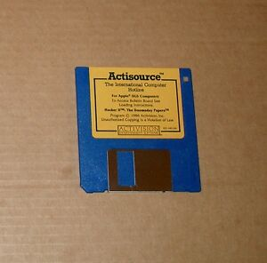 Original-Hacker-II-Disk-by-Activision-for-Apple-IIGS