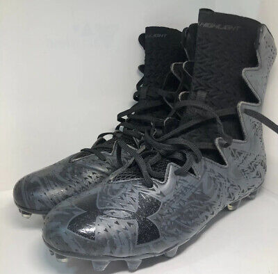 NEW $130 UNDER ARMOUR UA HIGHLIGHT LUX MC GREEN MEN`S FOOTBALL CLEATS 1297953