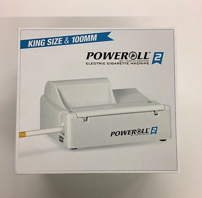 Poweroll 2 Electric Cigarette Rolling Machine By Top-O-Matic