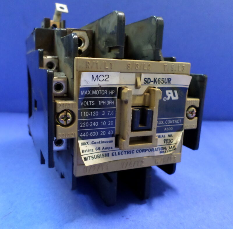 MITSUBISHI ELECTRIC CONTACTOR SD-K65UR