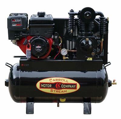 Gas Air Compressor Truck Mount 420cc Briggs Xr2100 Pro-series Commercial E-start