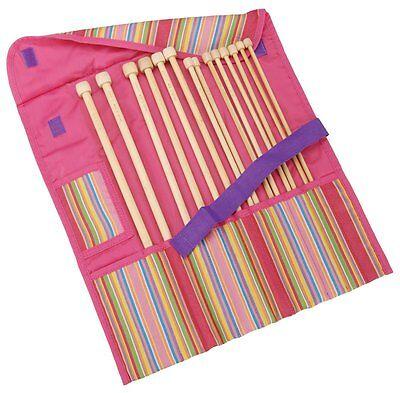 Clover Getaway Takumi Bamboo Single Point Knitting Needle Gift Set 13