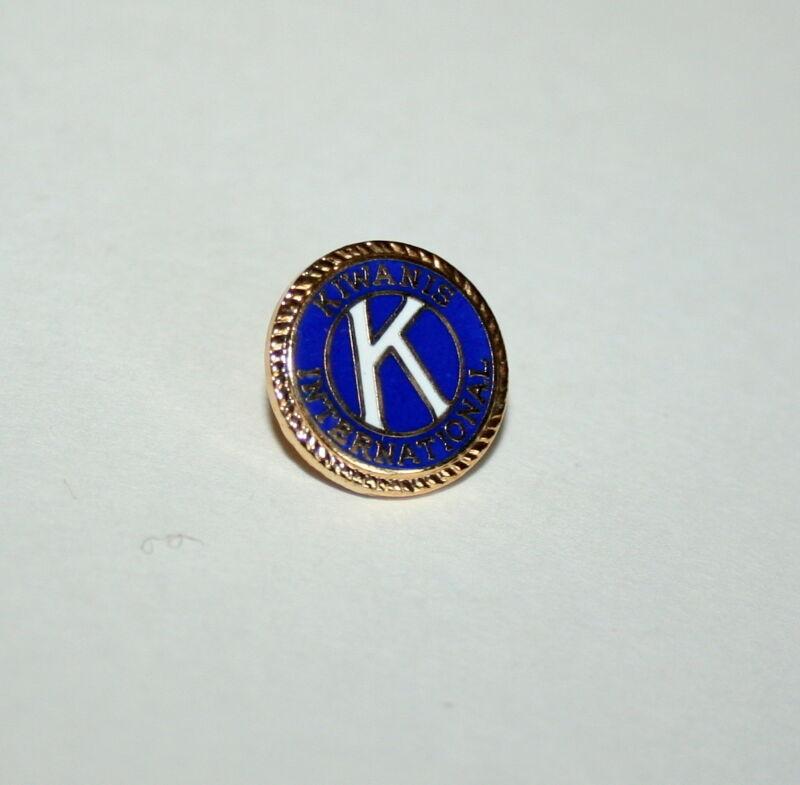 Vintage Kiwanis Club International 1980s K Small Hat Lapel Pin New NOS