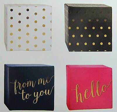 Pebbles Jen Hadfield Gift Boxes With Gold Foil Accents 8 Boxes Save 40