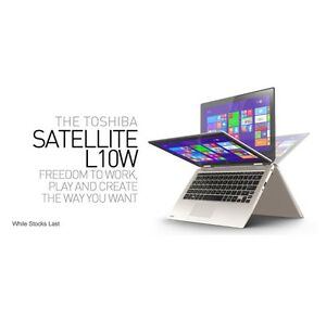 Toshiba Satellite touch screen laptop near new Manoora Cairns City Preview
