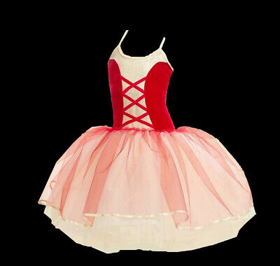 Adult 3XL Christmas Romantic Ballet Tutu Dance Costume Nutcracker - Adult Christmas Tutu
