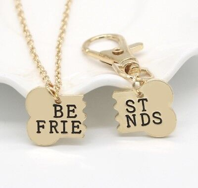 Best Friends Gift Dog Lovers Dogs Gold Chain Pendant and Tag Rescue Adopt Mutt