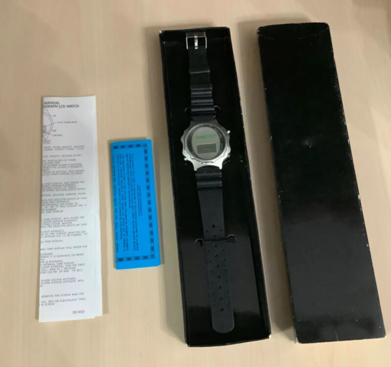 TIMECOP PROMO Digital Watch BRAND NEW IN BOX ‼️DIRECTIONS AND PAPERS‼️