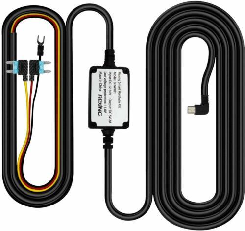 REXING Smart Hardwire Kit Mini-USB Port V1 V1P WiFi Version and V3,V5 Dash Cams