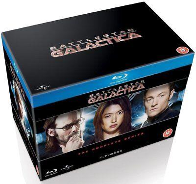 Battlestar Galactica   The Complete Series  Blu Ray Box Set  Region Free Sci Fi
