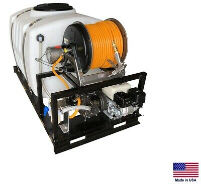 Sprayer Commercial - Skid Mounted - 10.5 Gpm - 560 Psi - 5.5 Hp 200 Gallon Tank