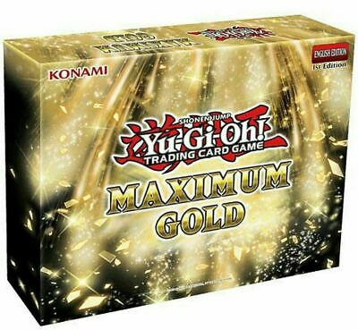 Pre-order Yu-Gi-Oh Maximum Gold Box