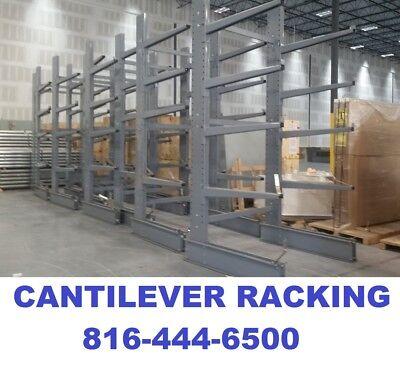 Steeltree Single Sided Cantilever Rack Racking Lumber Piping Racks New