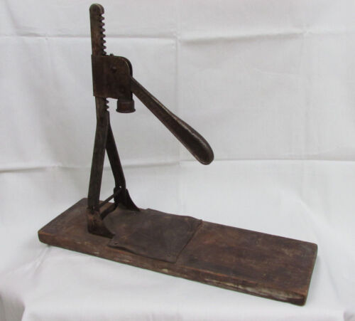 Vintage Bottle Cap Press