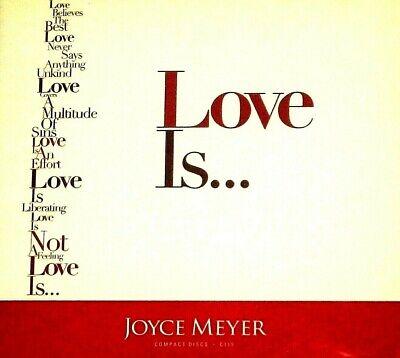Joyce Meyer *LOVE IS... 8 CDs C115*