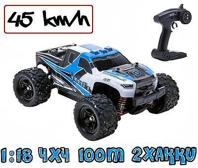Blij ´ R Speed Azul Control Remoto RC Auto 45 Km/H 1:18...