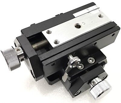 Chuo Seiki Rx-x.y Linear Stage Positioner Manual Stage Xy Axistravel 7.5mm