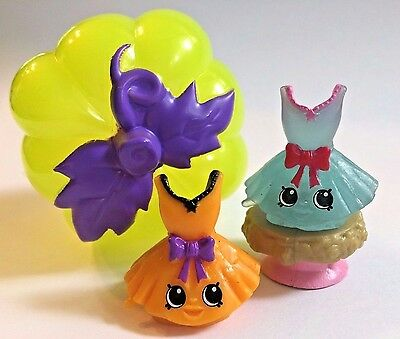 Shopkins Exclusive HALLOWEEN Pumpkin SURPRISE 2017 Spooky Glow Tutucute Set](Cars Halloween Pumpkin)