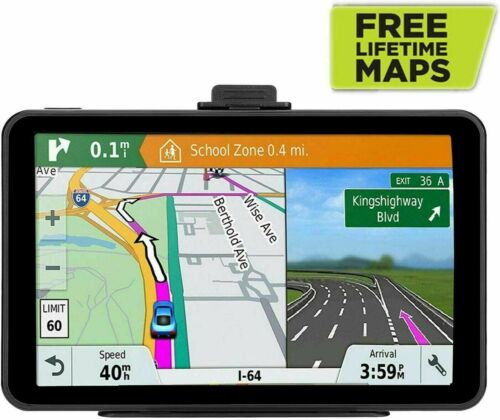 "GPS Navigation 7"" HD Screen 8 GB ROM 256 MB Lifetime Universal Map Free Updates"