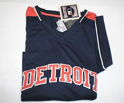 BRAND NEW MLB MENS DETROIT TIGERS   EMBROIDERED MAJESTIC  COOPERSTOWN JERSEY 4XL