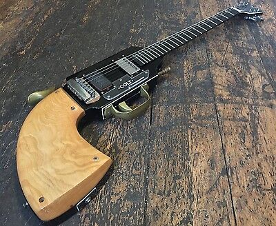 Jim Cairnes Burns Colt Gun Shape Peacemaker Electric Guitar Rare Made In England