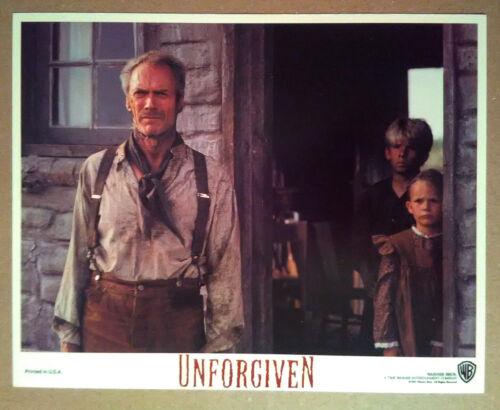 Lobby Card~ THE UNFORGIVEN ~1992 ~Clint Eastwood ~Shane Meier ~Aline Levasseur