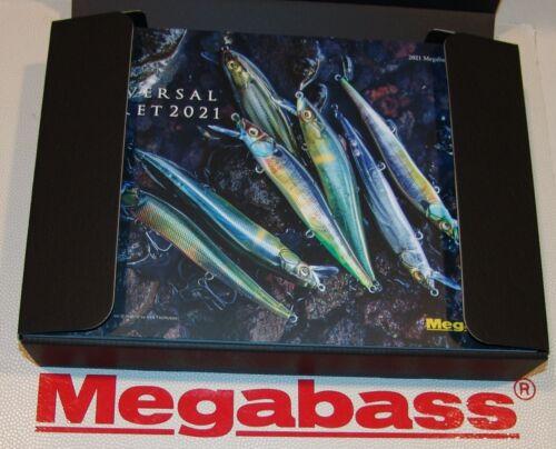 2021 MEGABASS UNIVERSAL SECRET Special Limited POP X BOX SET SOLD OUT FREE SHIP