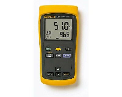 Fluke 51-ii Single Input Digital Thermocouple Thermometer. 51-2