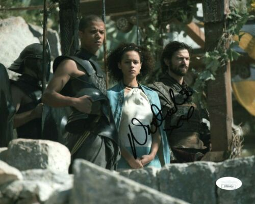 Nathalie Emmanuel Game of Thrones Autographed Signed 8x10 Photo JSA COA #E58