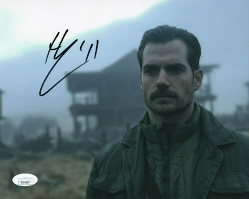 Henry Cavill Mission Impossible Autographed Signed 8x10 Photo COA EF172