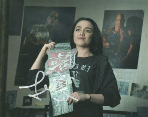 Florence Pugh Fighting Family Autographed Signed 8x10 Photo COA