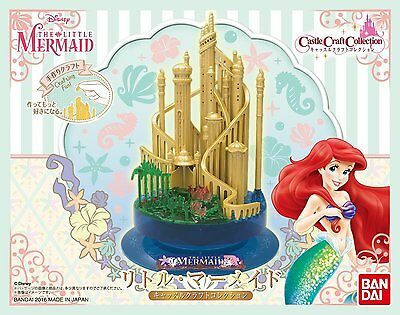 Collection The LITTLE MERMAID Plastic Model Kit New Japan (Castle Craft)