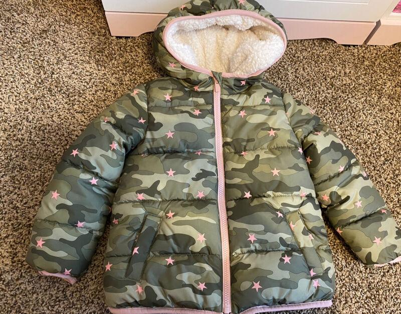 Gap Kids Toddler Girl Winter Camo  Jacket