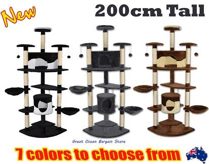 2M High Multi Level Climbing Cat Tree