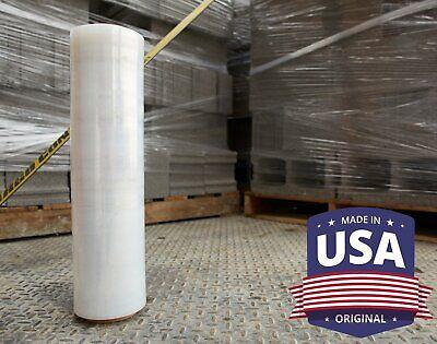 18 X 1200 Clear Pallet Shrink Wrap 80 Gauge Industrial Strength Plastic Film