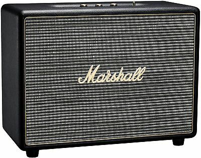 Marshall Woburn Bluetooth Home Speaker with Aux RCA Optical Input - Black