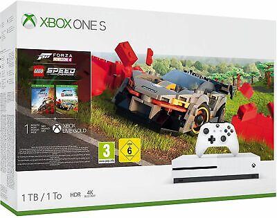 Xbox One S 1TB Console Forza Horizon 4 Lego Speed Champions Bundle (Xbox One)NEW