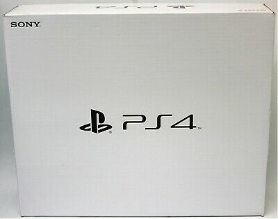 Never Used Sony PlayStation 4 PS4 Original CUH-1215A w/Jet Black DS4 Controller